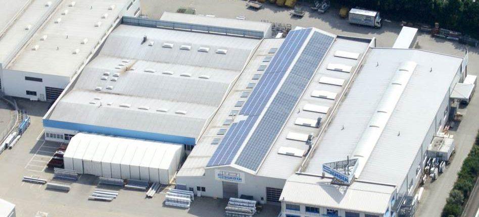 Luftbild Werk Denkendorf