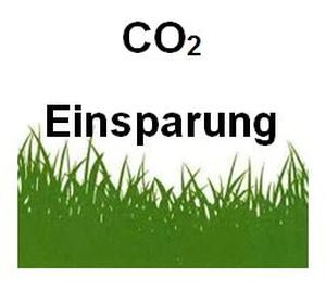 CO2-Einsparung