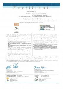 Ift-Zertifikat