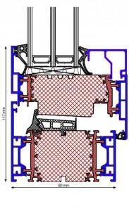 Technischer Schnitt Pural ECO90