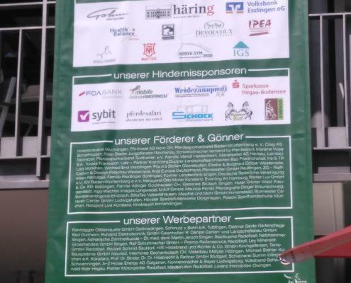 Sponsoring Gut Weiherhof - Übersicht